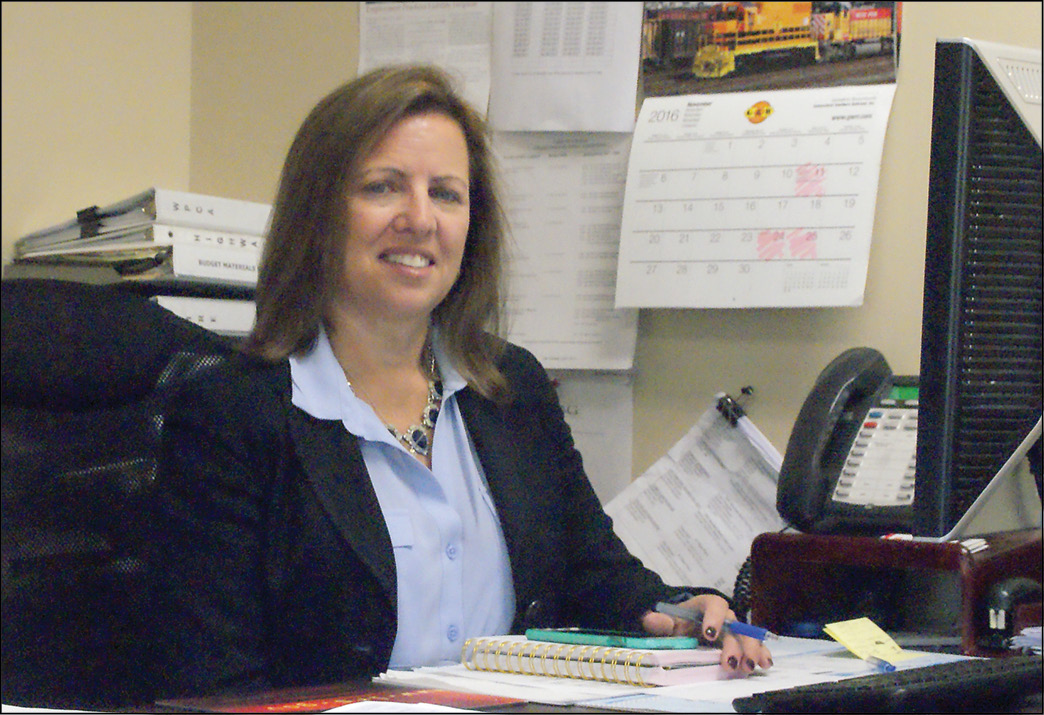 Karin Ziemba, after four months on the job, seems comfortably settled in her position as Suffield's Director of Human Resources. For now, at least, her office is next to the Public Works Department, on the second floor at 230 Mountain Road.