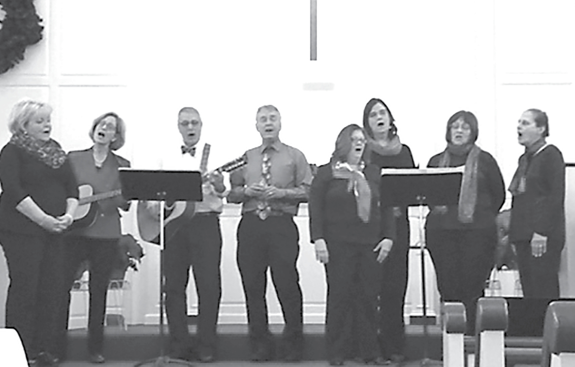 The Second Baptist Church Sanctuary Choir, pictured here in a previous performance, will be among the diverse groups providing great music on December 16 in the church's annual Community Christmas Concert.